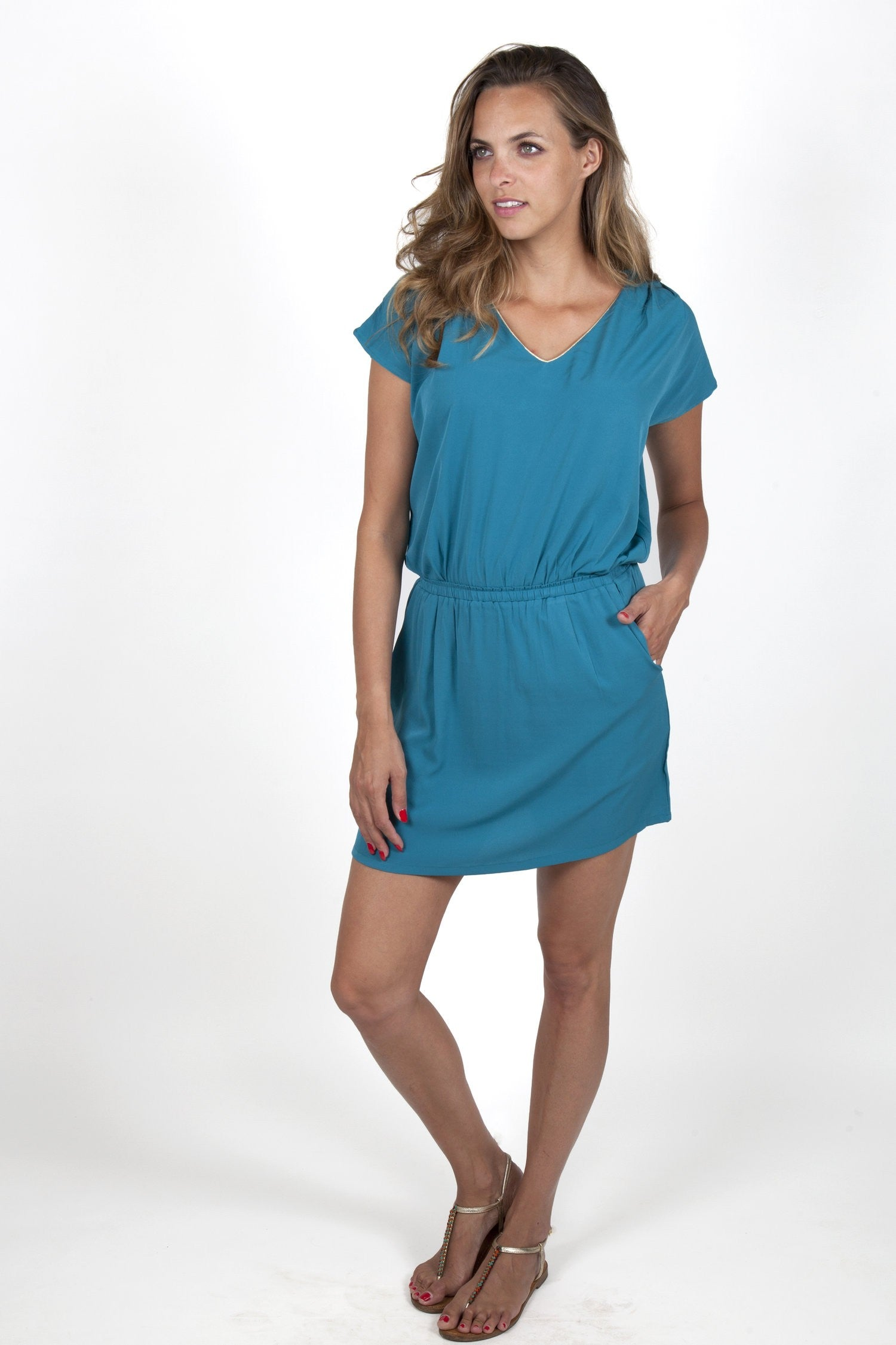Sofia Green Dress Capsule Collection By Juliette - S / Green - Dresses Capsule Collection By Juliette