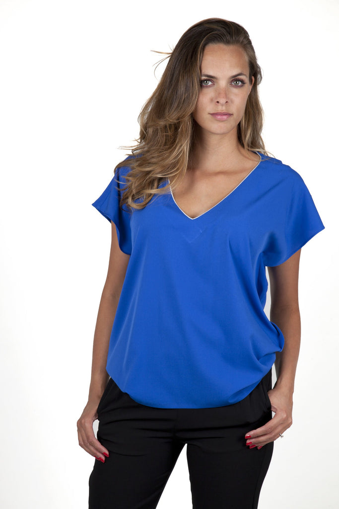 Stella Blue Electric Top Capsule Collection Juliette - / Free - Tops By