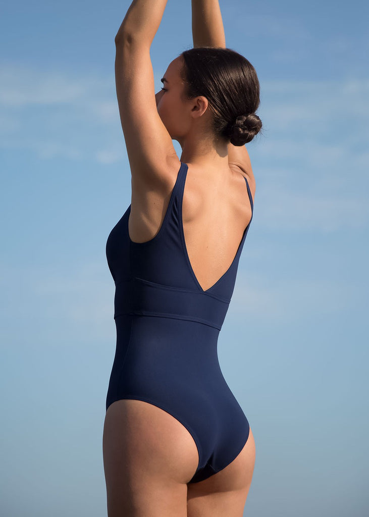 The Navy Swimsuit Statice