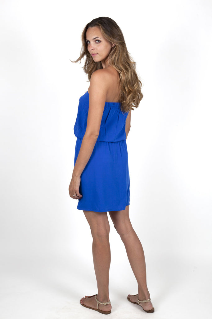 Julie Electric Blue Dress Capsule Collection By Juliette - Dresses Capsule Collection By Juliette