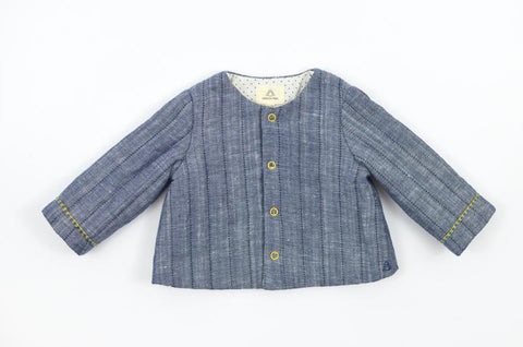 Boys Quilted Jacket, Maison Frida