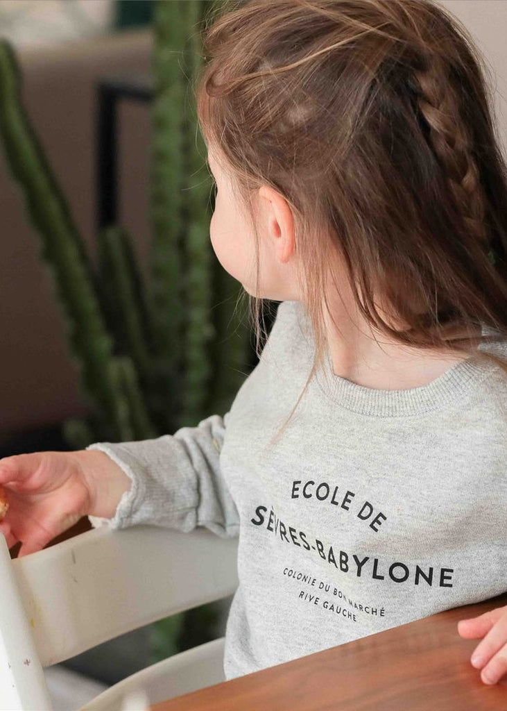 Le petit Babylone Sweater, Chat-Malo Paris