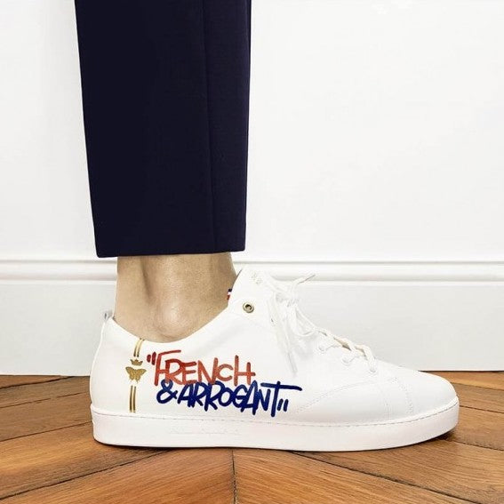 French and arrogant sneakers - Barons Papillom