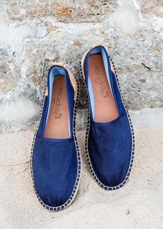 Ilbarritz Navy Espadrille, Escadrille Paris