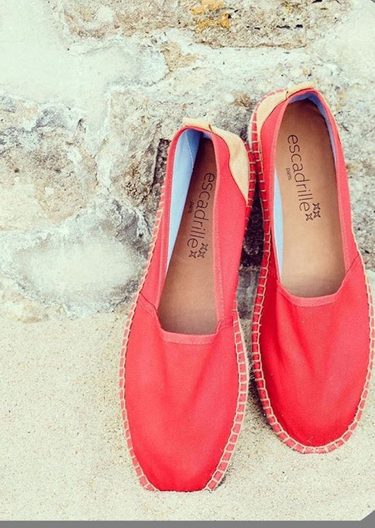 Ilbarritz Red Espadrille, Escadrille Paris
