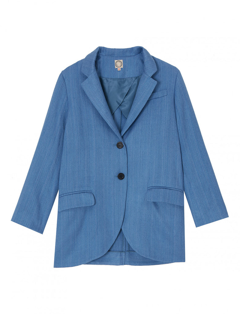 Jacket artic blue - Ines de la Fressange Paris - French style