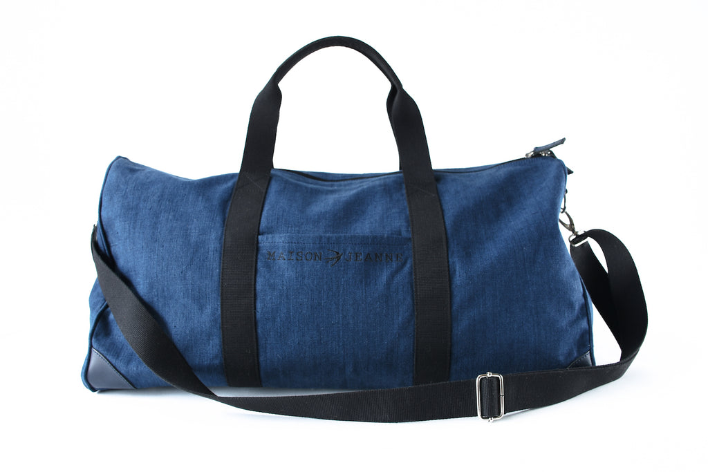 Jean The 48H Navy Travel Bag Maison Jeanne - Weekender