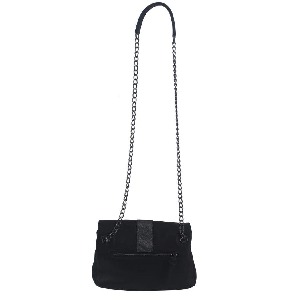 Jude Black Leather Handbag, Lea Toni