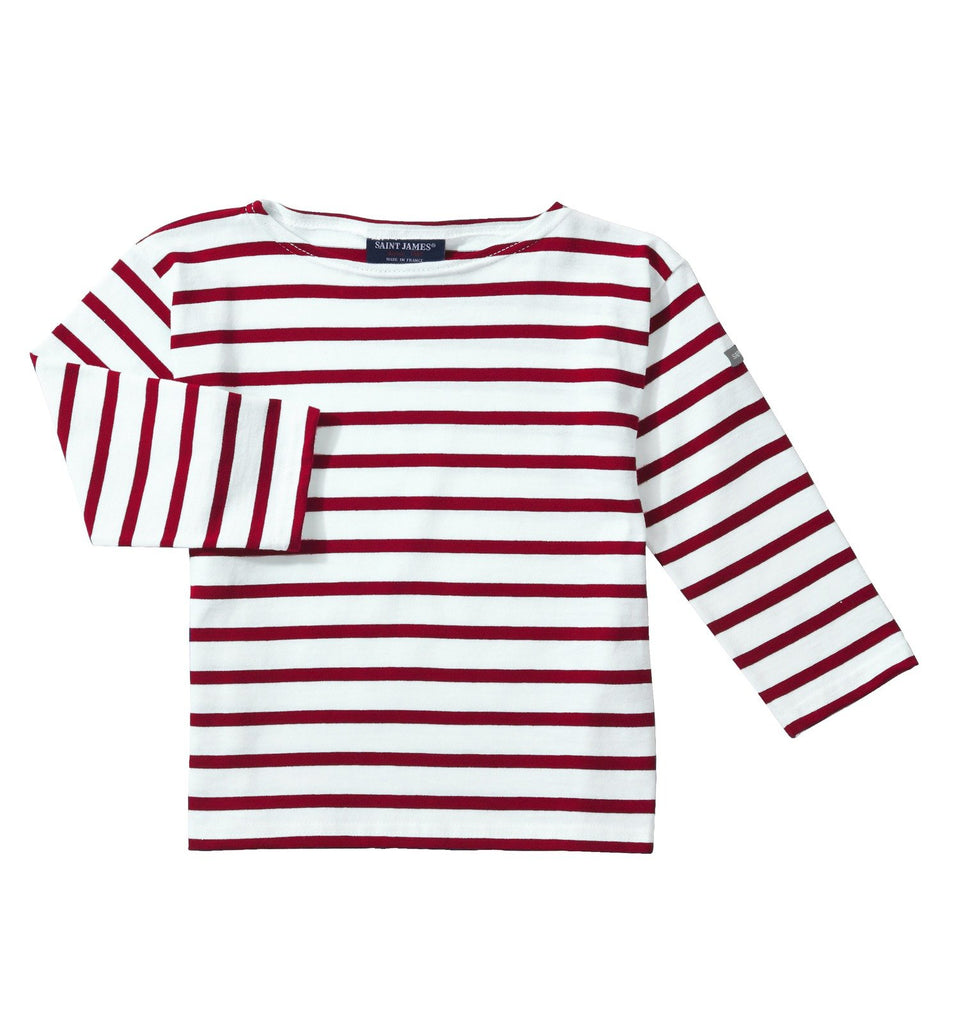 kids nautical t shirt saint james ecru Persan Minquiers