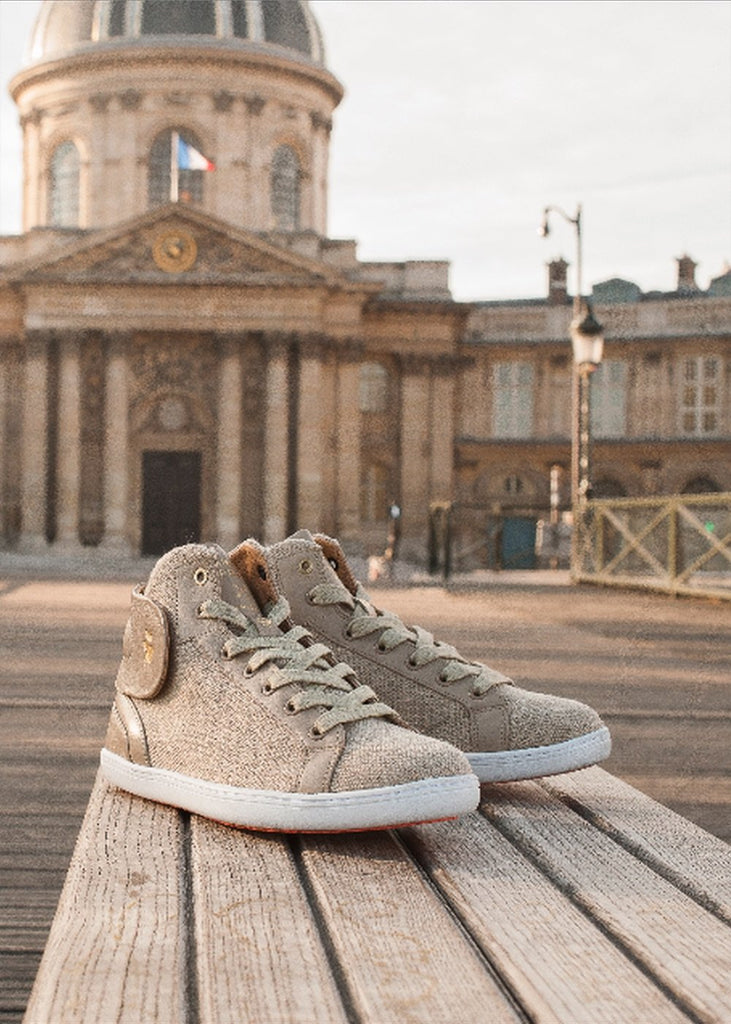 Linen sneakers barons papillom