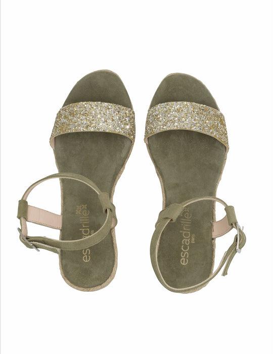 Lovrecina Kaki Sandals, Escadrille Paris