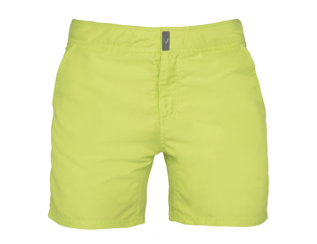 Mens swim shorts the yellow