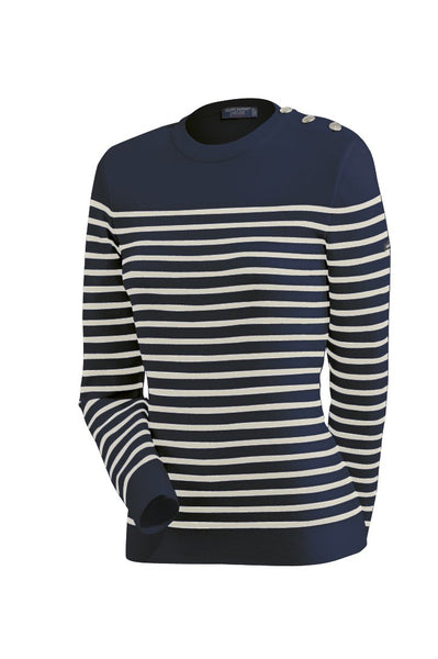 saint james navy stripe sweater