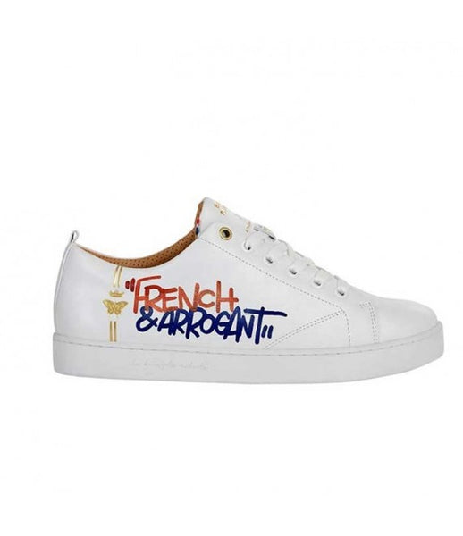 White leather sneakers - My Parisiennes