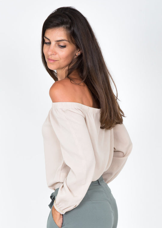 Lea Nude Top, Capsule Collection by Juliette