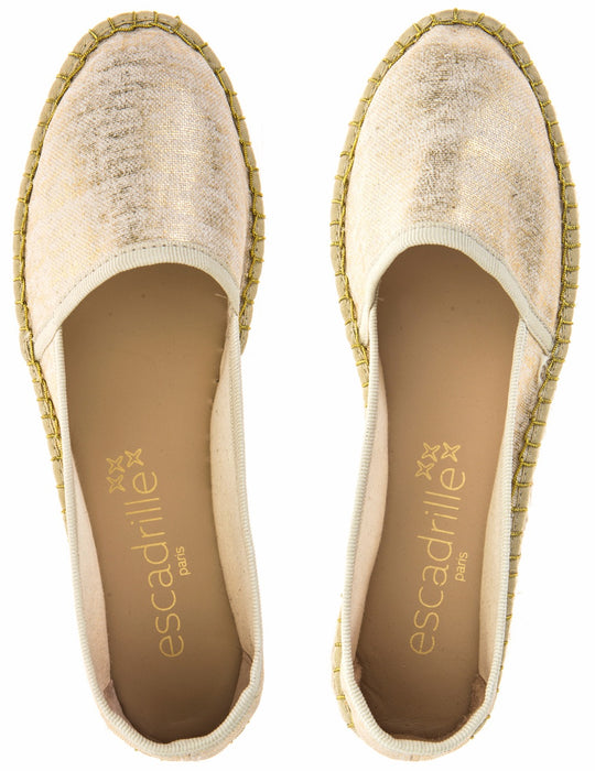 Vacances Romaines Gold Espadrille, Escadrille Paris
