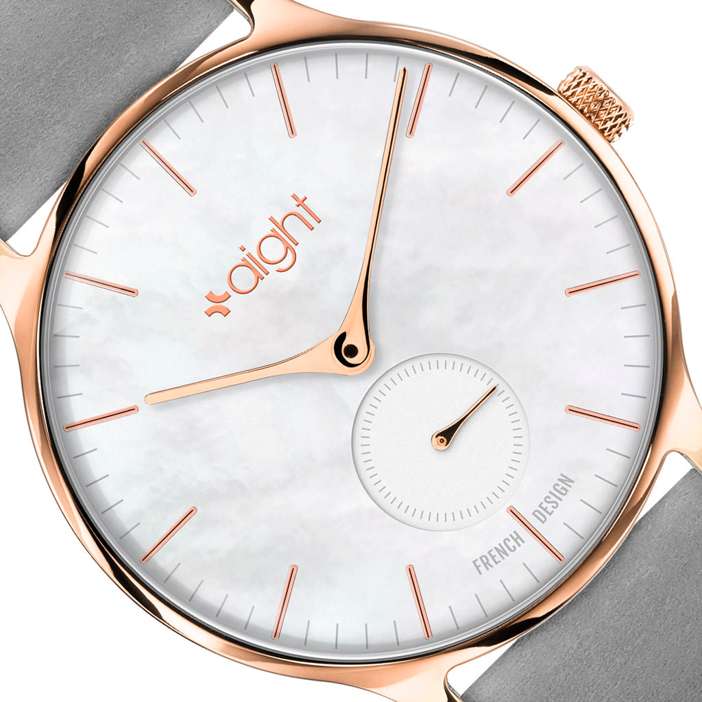 Paris Nubuck Aight Watch - Watches