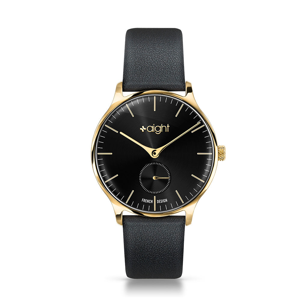 Barcelona Leather Aight Watch - Watches