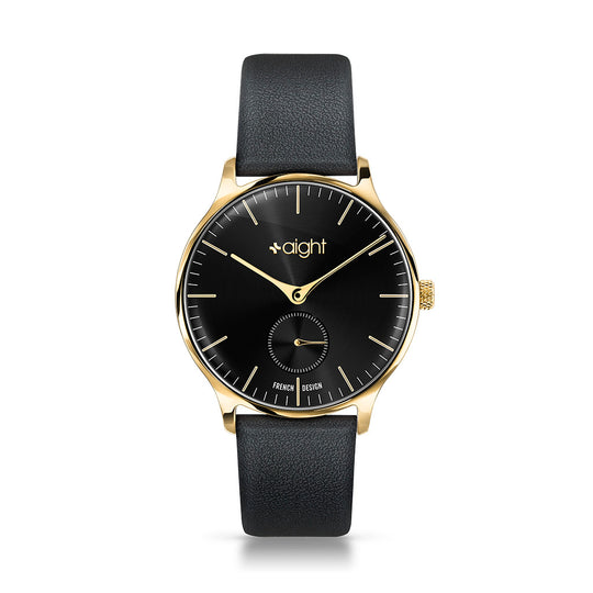 Barcelona Leather Aight Watch - Watches Aight