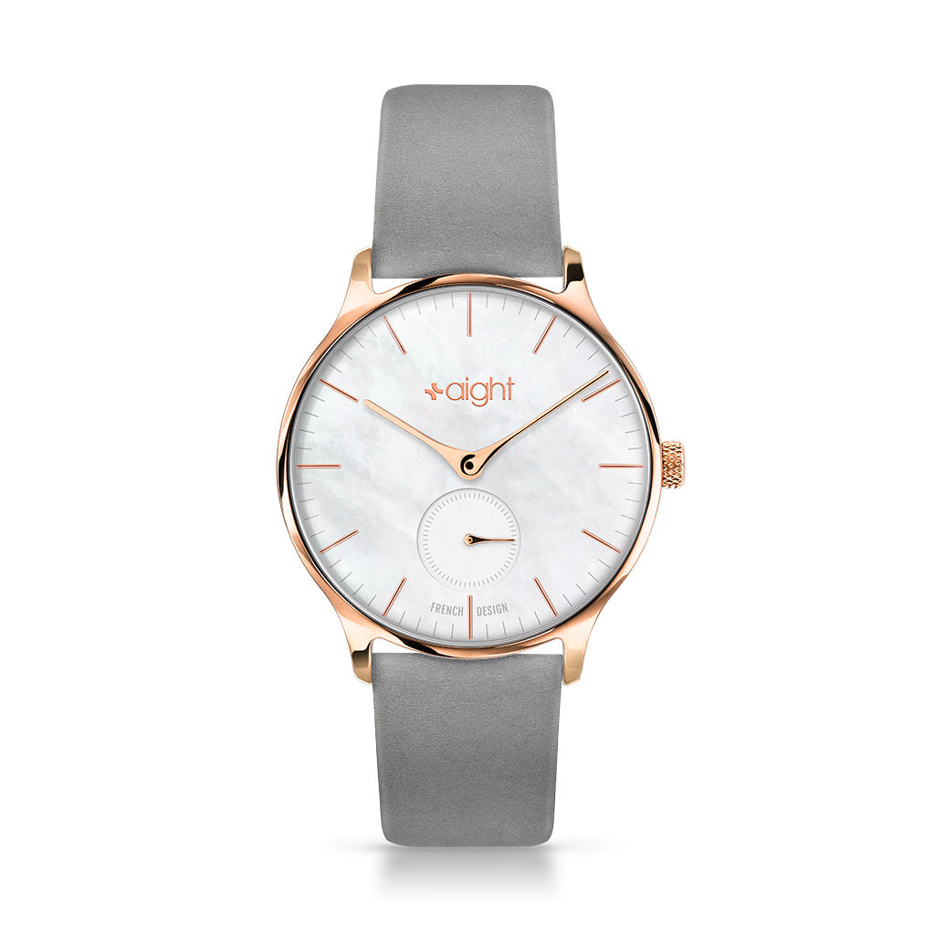 Paris Nubuck Aight Watch - Watches Aight