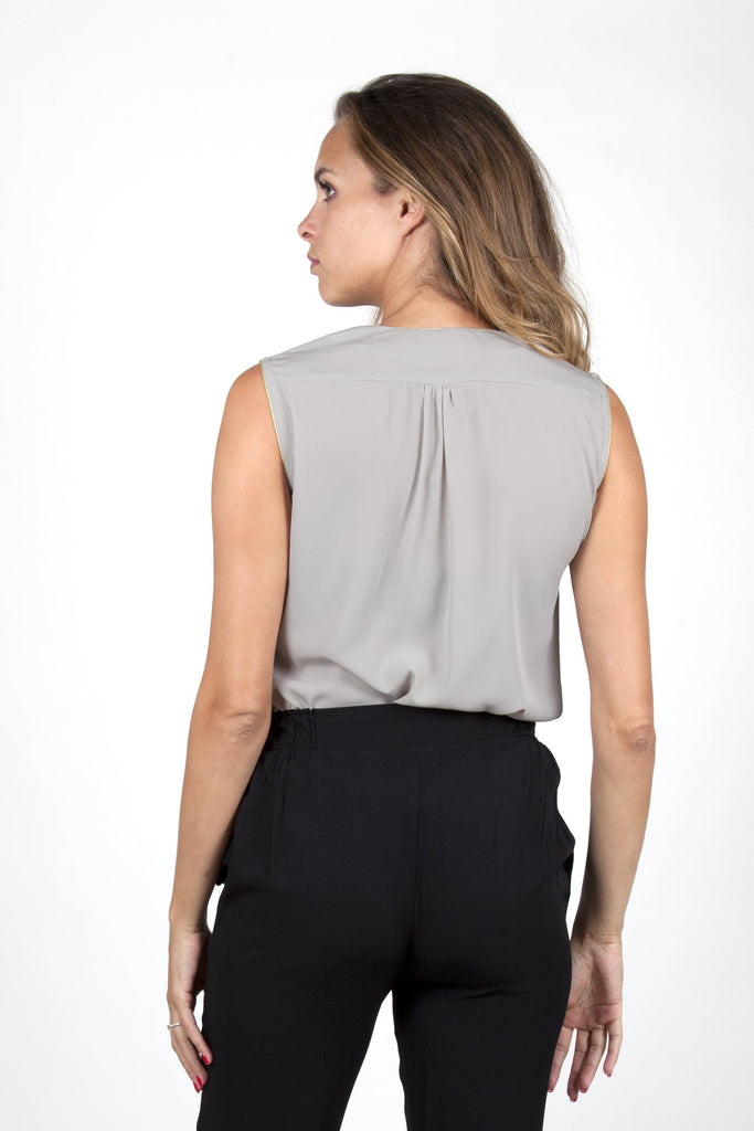 Ina Grey Top Capsule Collection By Juliette - Tops