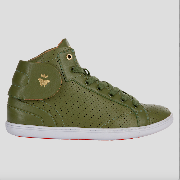 barons papillom olive sneakers