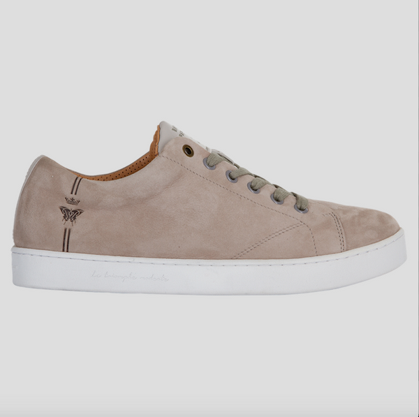barons papillom sneakers suede grey