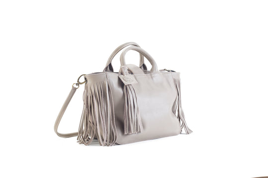 Baby Darling Beige Leather Handbag Virginie Darling - Handbag Virginie Darling
