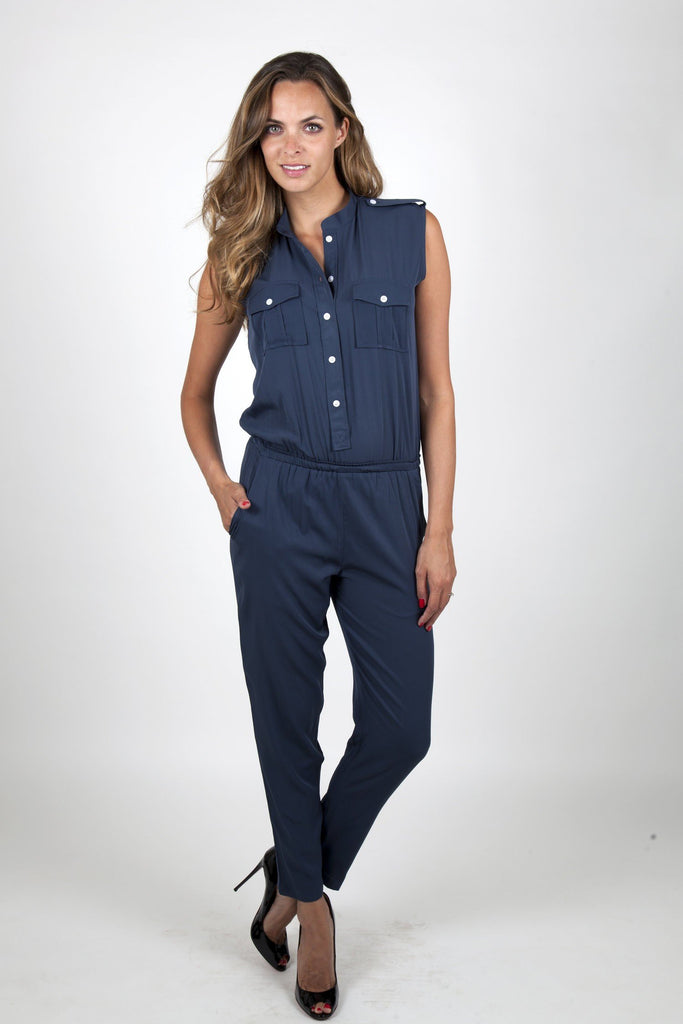 blue jumpsuit womens army