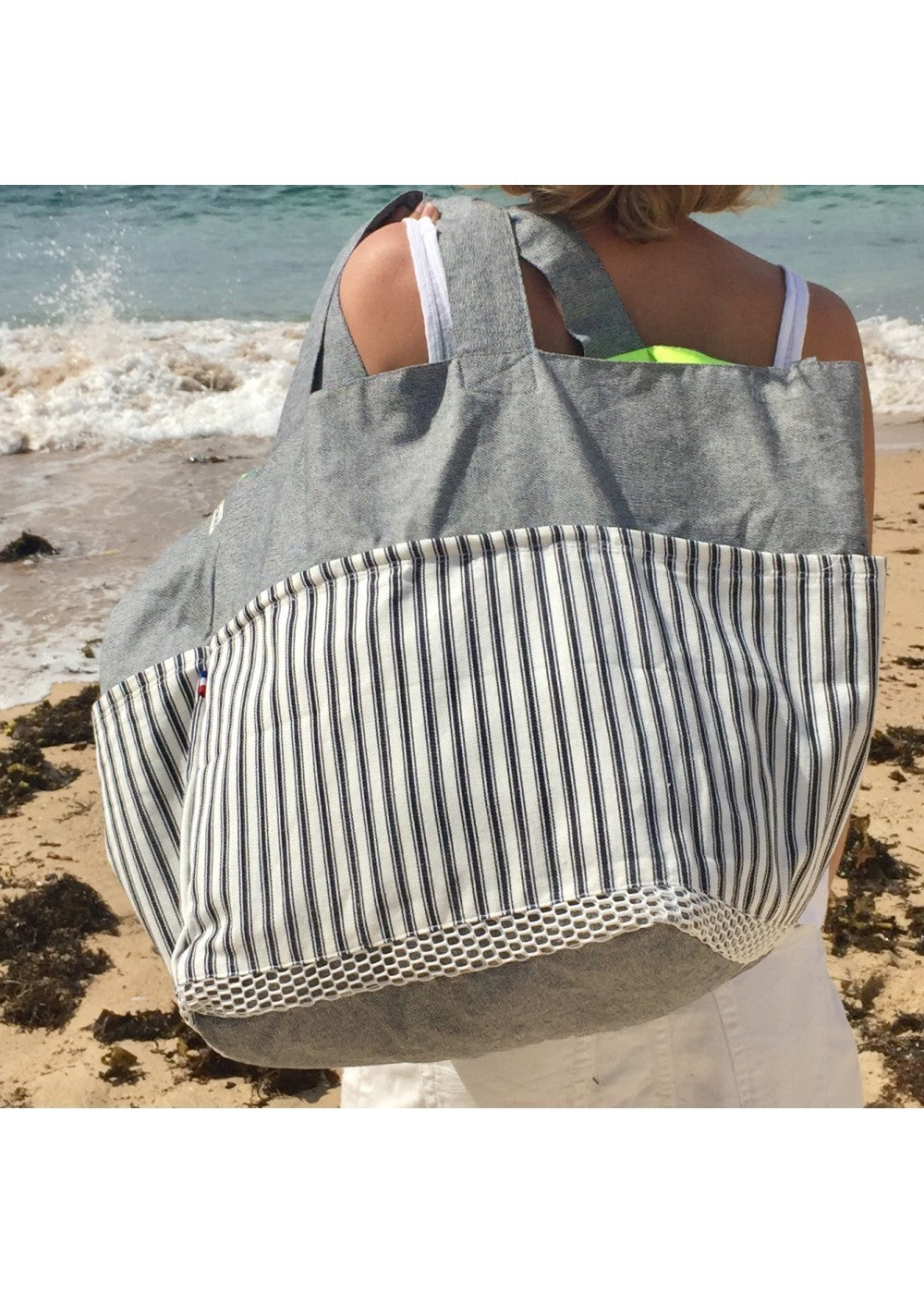 Biarritz Bag A French Summer - Weekender A French Summer
