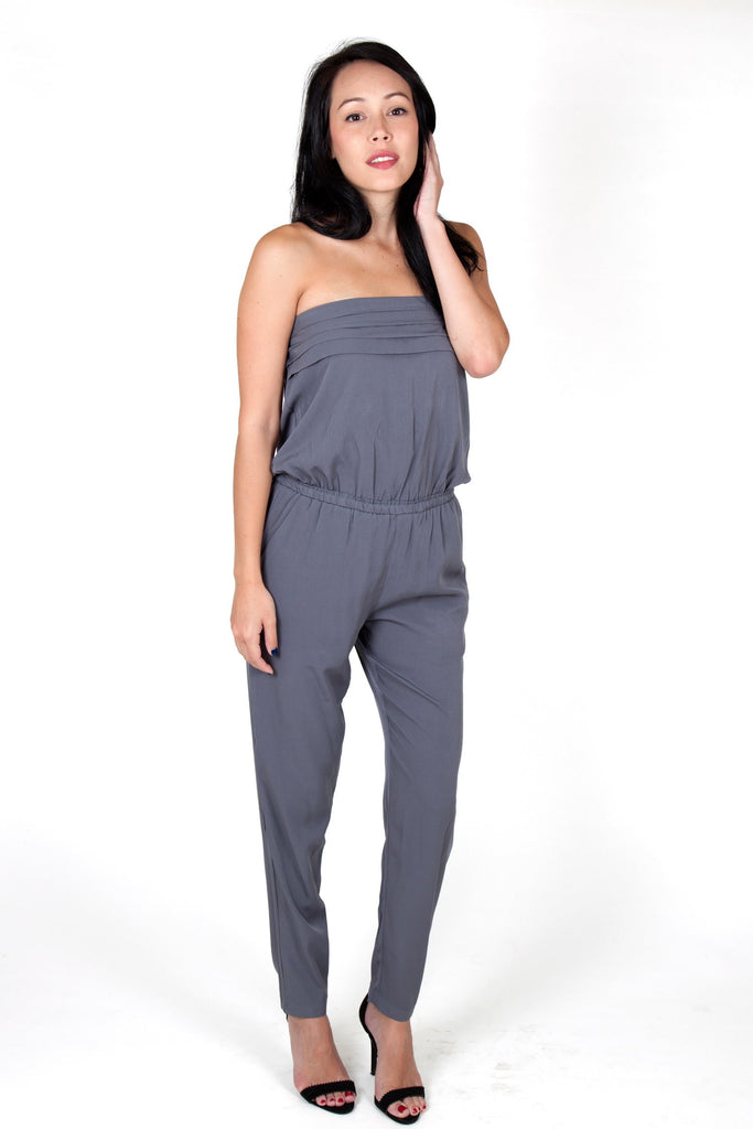 Julie Grey Jumpsuit Capsule Collection By Juliette - Jumpsuits Capsule Collection By Juliette