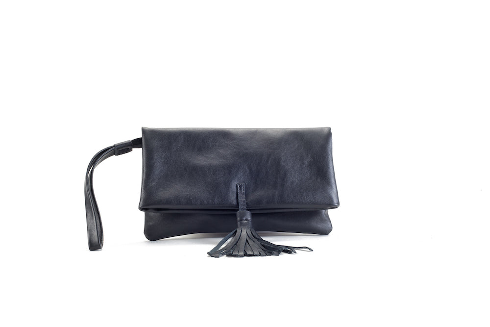 Elena Black Clutch Small Virginie Darling - Clutch Virginie Darling