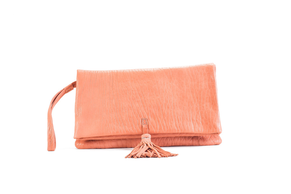 Elena Flamingo Clutch Medium Virginie Darling - Clutch Virginie Darling