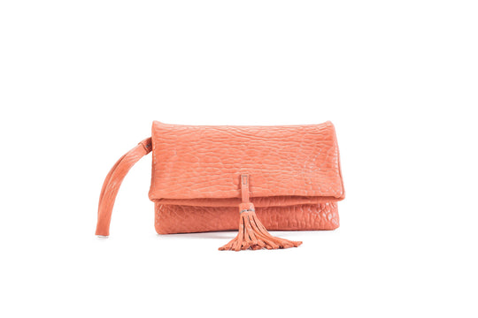 Elena Flamingo Clutch Small Virginie Darling - Clutch Virginie Darling