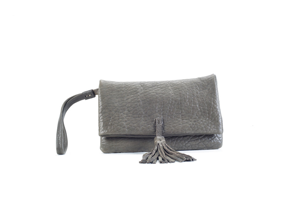 Elena Kaki Clutch Small Virginie Darling - Clutch Virginie Darling