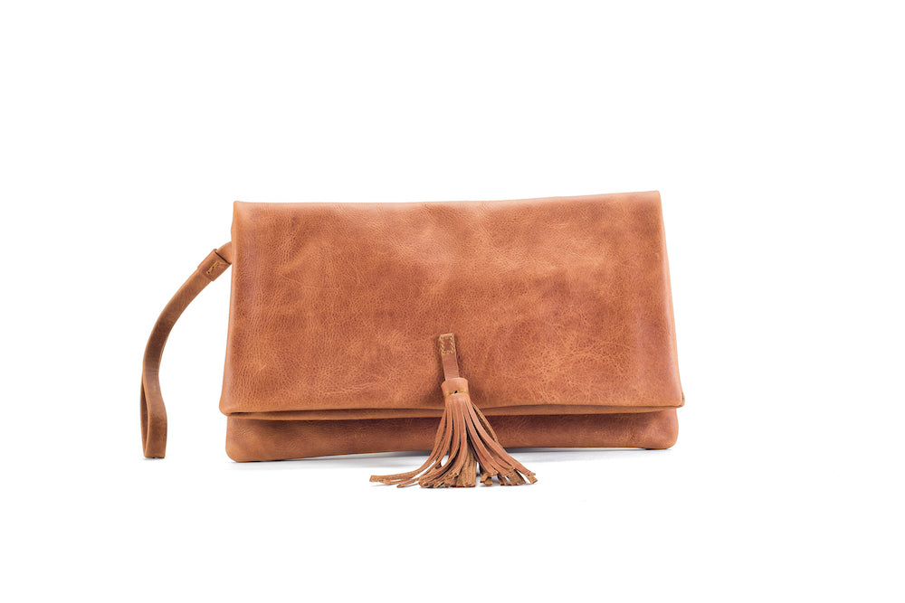Elena Natural Clutch Medium Virginie Darling - Clutch Virginie Darling