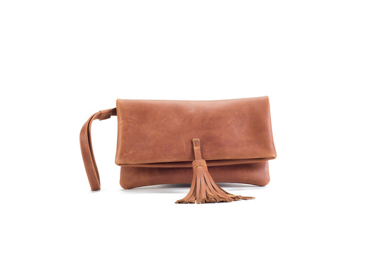 Elena Natural Clutch Small Virginie Darling - Clutch Virginie Darling