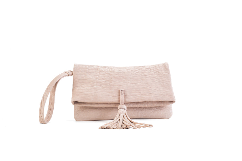 Elena Nude Clutch Small Virginie Darling - Clutch Virginie Darling