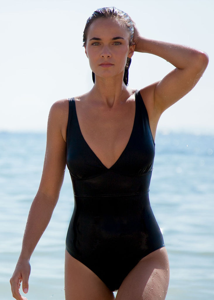 The Black Swimsuit Statice - 36 / Black - Swimsuit Statice