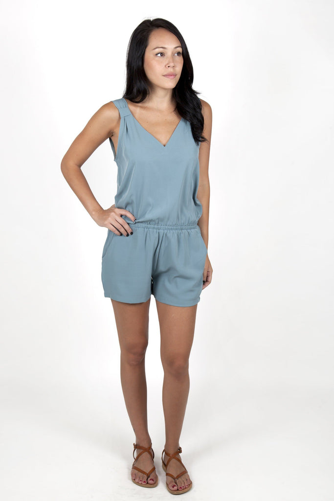 romper light green