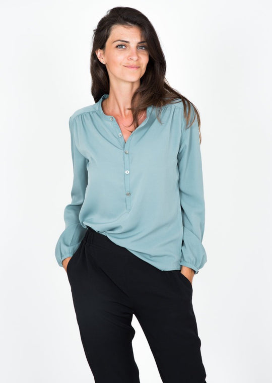 light green womens shirts