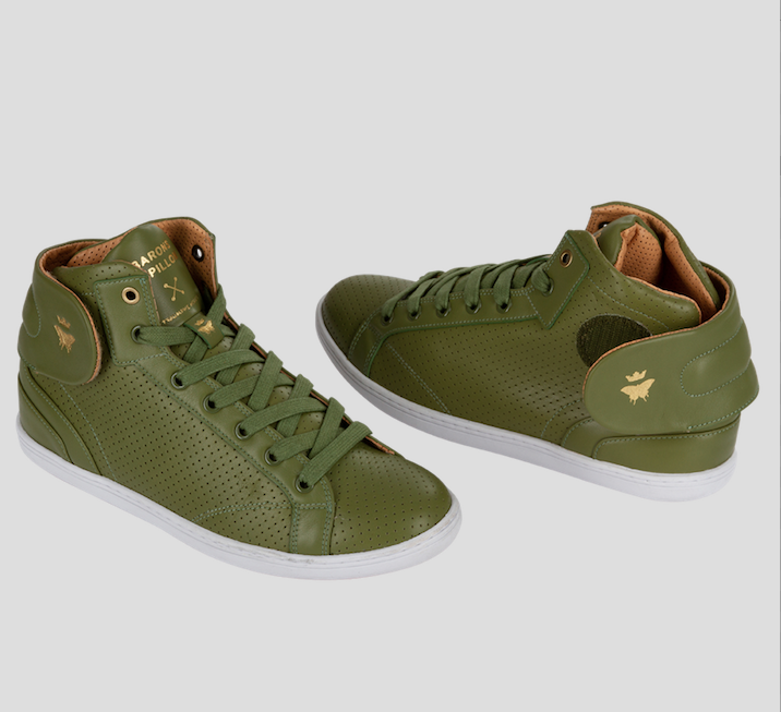 high end sneakers olive barons papillom