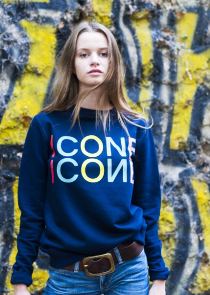 navy sweat icone