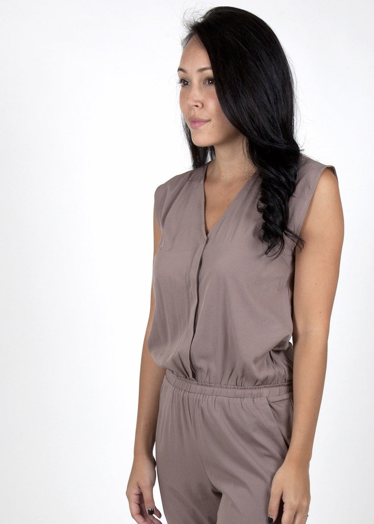 brown jumpsuit online
