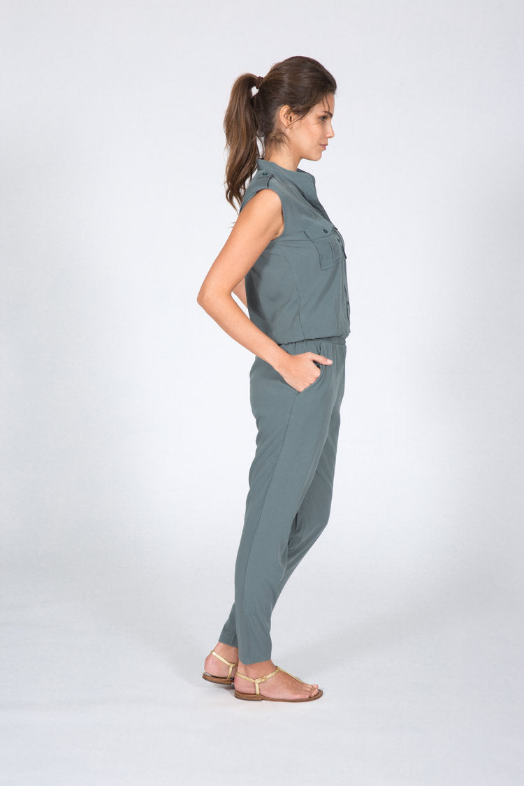 jumpsuits for women grey army
