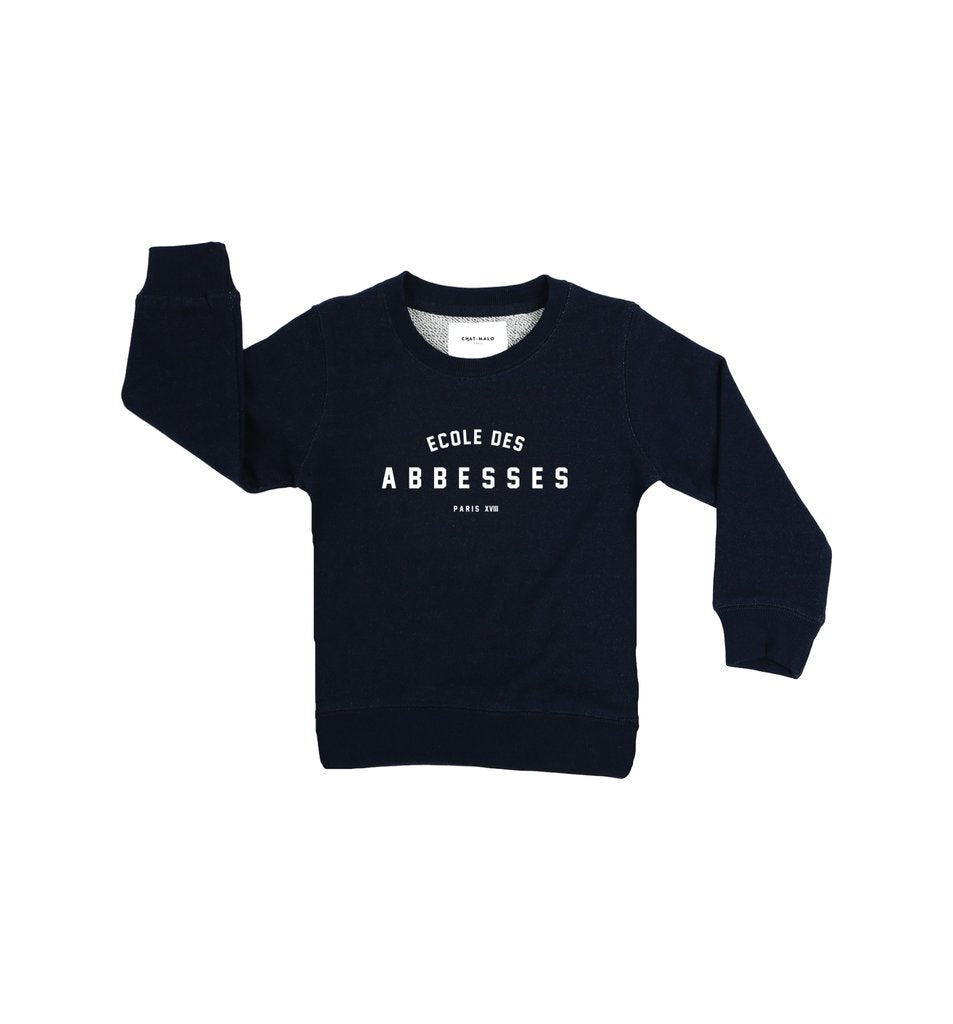 Le petit Abbesses sweater - Chat Malo - My Parisiennes