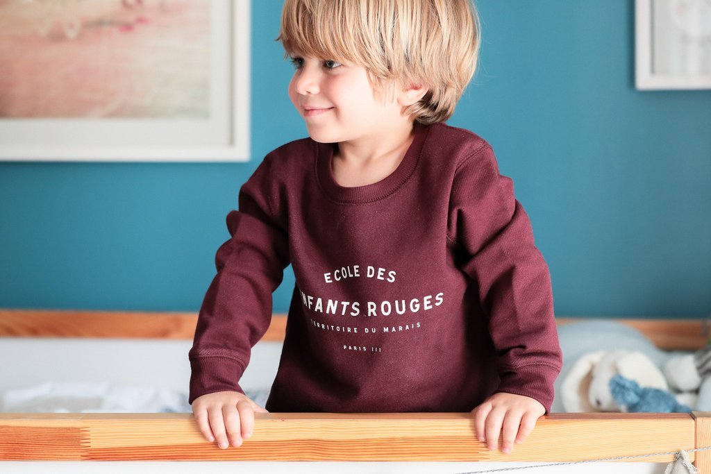 Le petit Marais sweater - Chat Malo - My Parisiennes