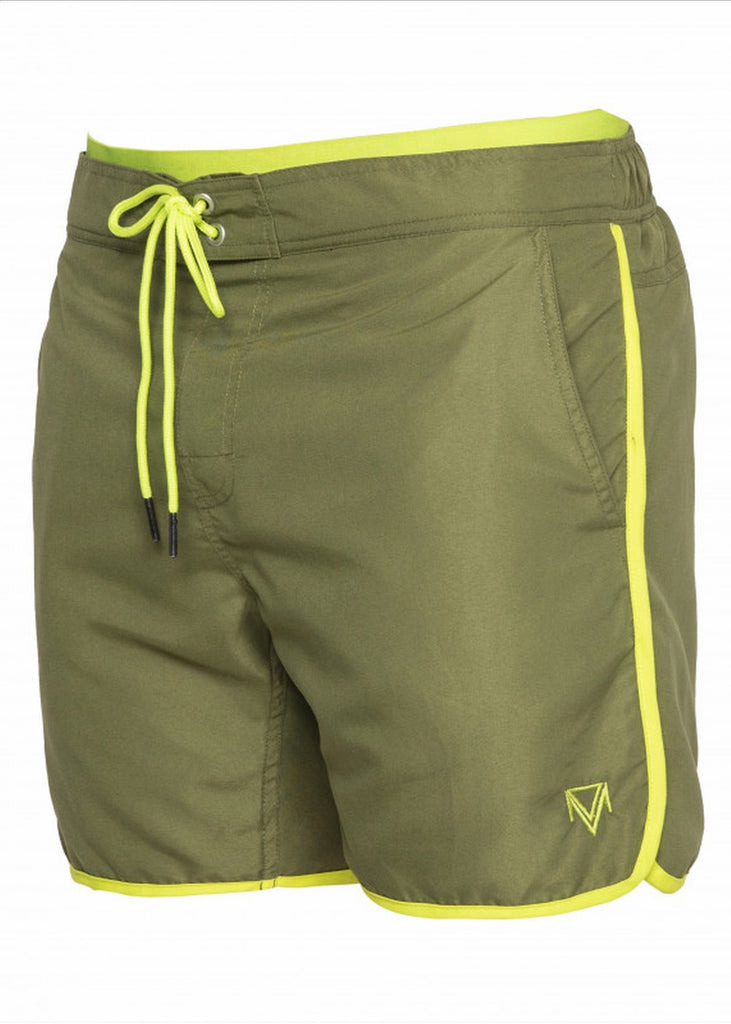 Mens swim shorts the olive