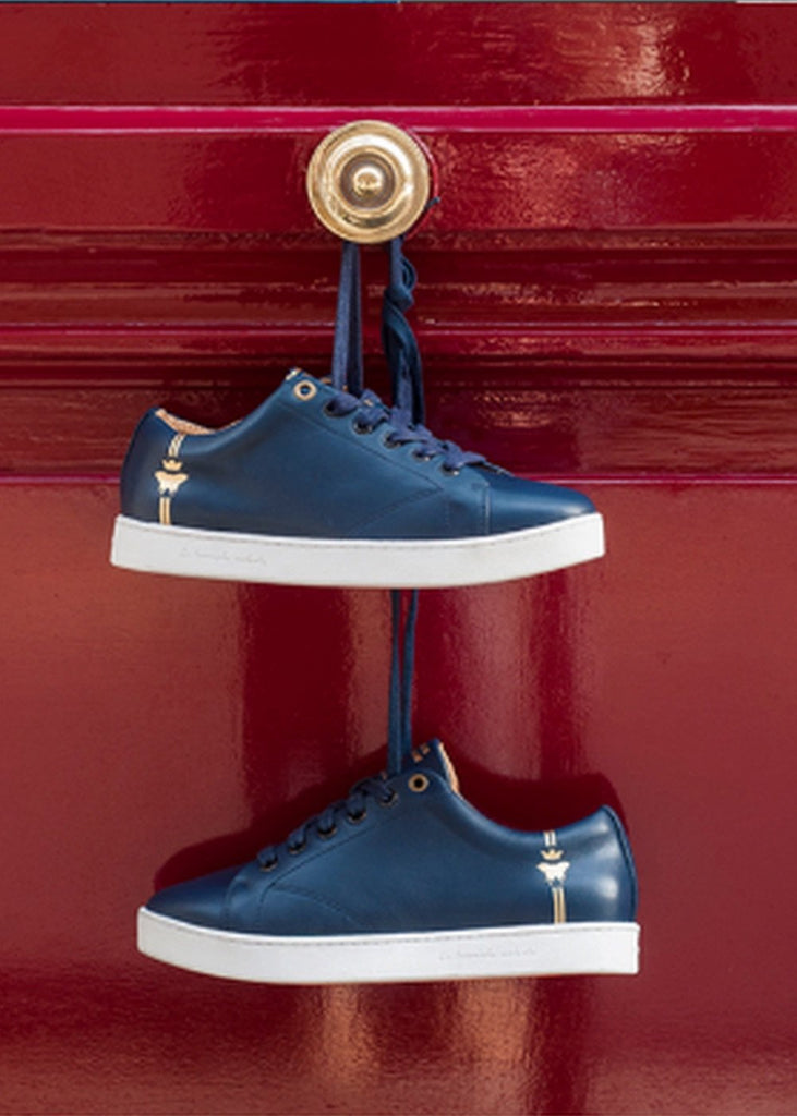 navy sneakers barons papillom