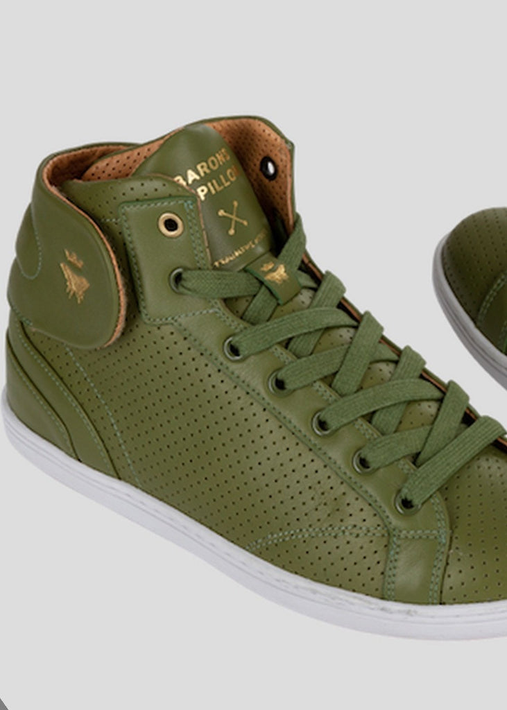 olive sneakers barons papillom
